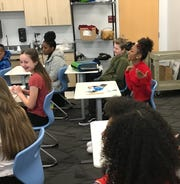 The AMS student government gathered to discuss how factors outside of school can carry into classrooms.