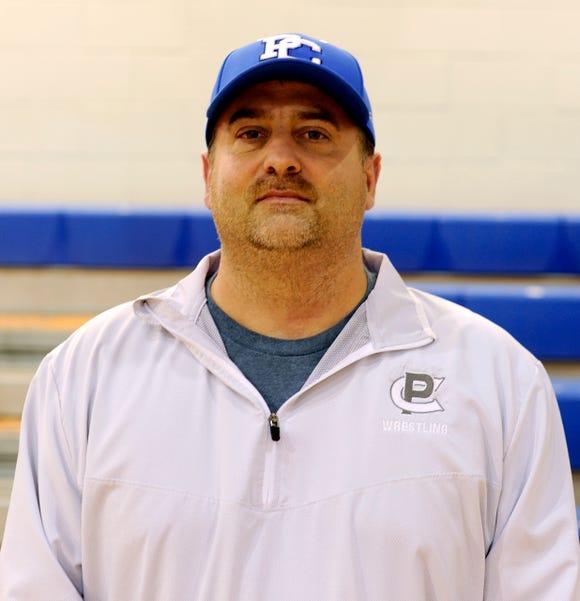 Polk County softball coach Phillip Miller