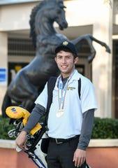 John Houchin of Merritt Island is the Boys Golf Athlete of the Year