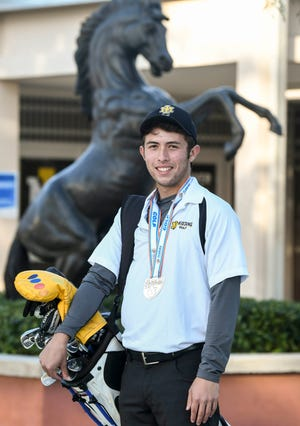 John Houchin of Merritt Island is the Boys Golf Athlete of the Year