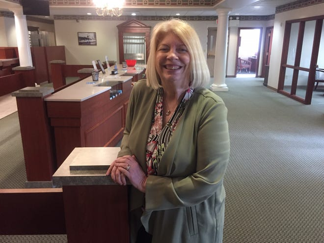 Jenny Saunders, president of FCBank, is excited about renovations coming to the bank's Bucyrus branch.