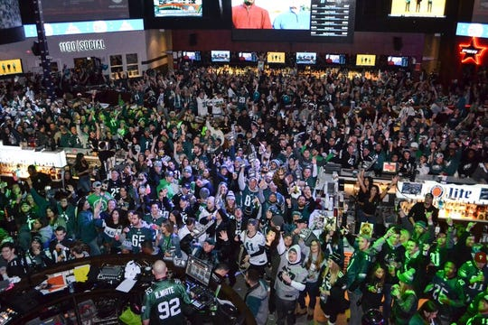 XFINITY Live! in Philadelphia will host a Super Bowl bash on Feb. 2.
