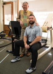 Bill Musser's current partner Matthew McGinnis, right, will be taking over the current physical therapy practice after the departure of Musser.