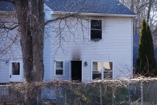 Two people were removed from a house fire on Jill Court in Edison