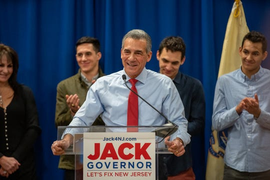 Former Assemblyman Jack Ciattarelli launches his campaign for governor, making him Gov. Phil Murphy's first Republican opponent.