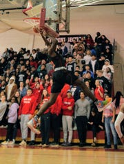 Somerville at Bound Brook boys basketball on Tuesday, Jan. 21, 2020.