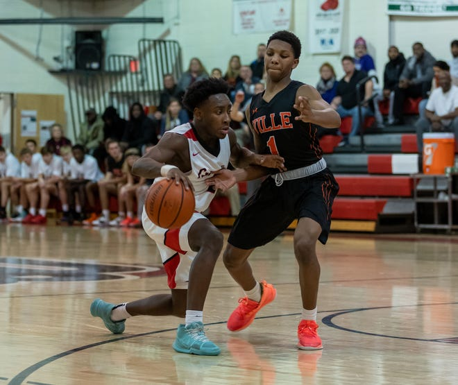 The Bound Brook boys basketball team defeated Somerville 56-48 on Tuesday night