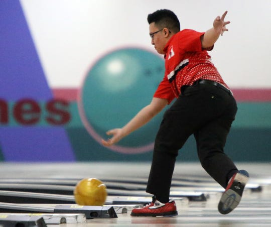 The Greater Middlesex Conference Individual Bowling Tournament stepladder finals were held on Tuesday, Jan. 21, 2020 in Woodbridge.
