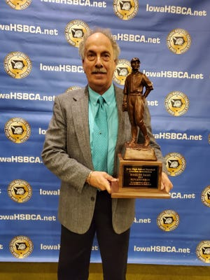 Former Carlisle baseball coach and current Ankeny resident Ron Anderson was recently inducted into the Iowa High School Baseball Coaches Hall of Fame for his career as a player at Iowa Falls High School.