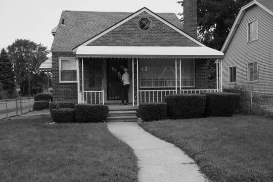 Sonya Mull's former house on College Street, Detroit