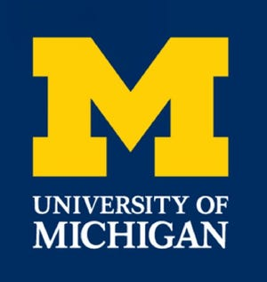 University of Michigan logo.
