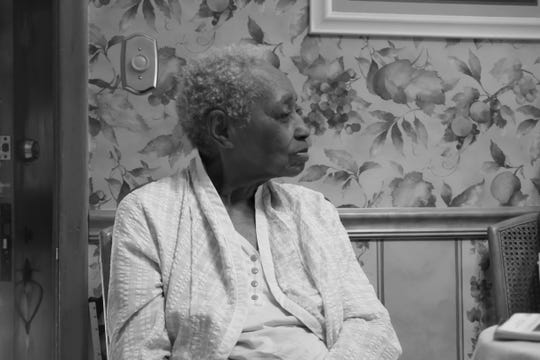 Sonya Mull's late aunt,  Curtis Bailey, in the house  she owned on College Street