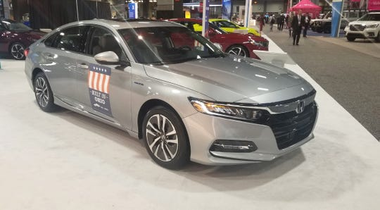 A scene from last April's Washington Auto Show, when attendance dropped by 25% compared to the January show in 2018.
