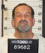 This photo provided by Tennessee Department of Correction shows Nicholas Sutton. Sutton has chosen to die by the electric chair, making him the fifth inmate in a little over a year to choose electrocution over the state's preferred execution method of lethal injection.