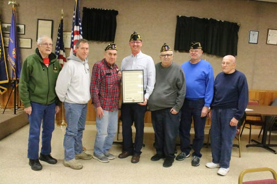 The new Fremont American Legion Post 608 received its permanent Charter.  The official name is Fremont Ft. Stephenson American Legion Post 608.