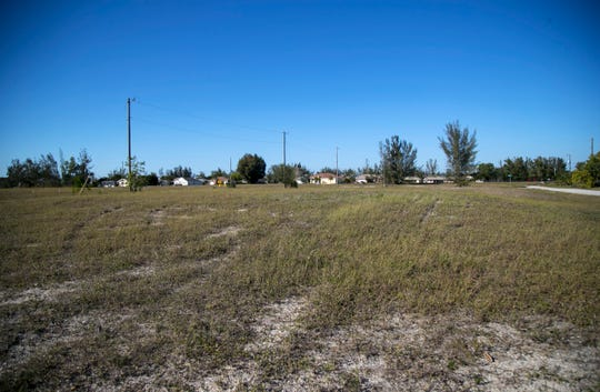 This 15-acre commercial site is available for development on Veterans Parkway in Cape Coral. The site is next to Lowe's.