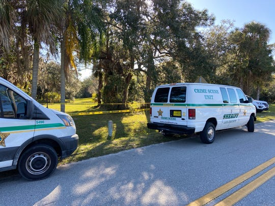 Skeletal remains were found off Lavin Road in North Fort Myers on Tuesday, Jan. 21, 2020. The Lee County Sheriff's Office is investigating.