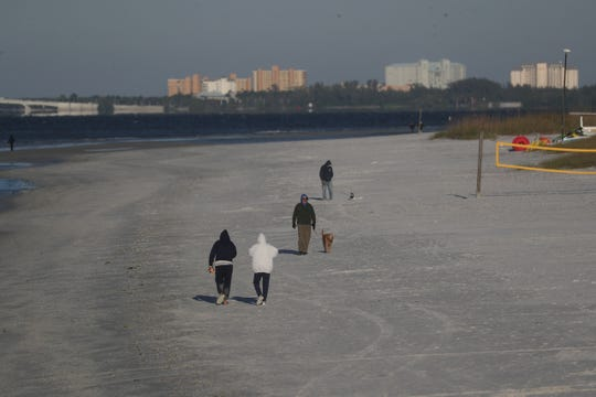 Southwest Florida saw almost freezing temperatures on Wednesday morning. The area saw temps in the high 30s and low 40s with a wind chill in the 20s.