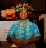 Benjie Santiago of Guam's Natibu Dance Academy at Guam Lotte Hotel Jan. 17, 2020.