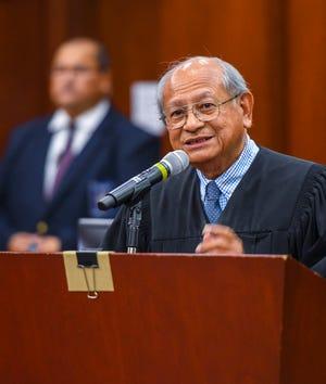 U.S. Magistrate Judge Joaquin Manibusan Jr. is retiring