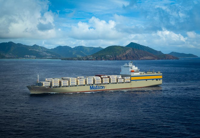 Matson Inc. welcomed its largest and fastest vessel, the Lurline, to Honolulu Jan. 17.