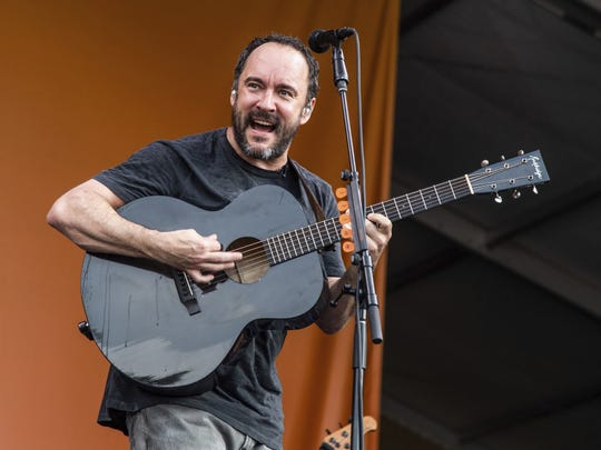The Dave Matthews Band has played more shows at Ruoff Music Center than any other act.