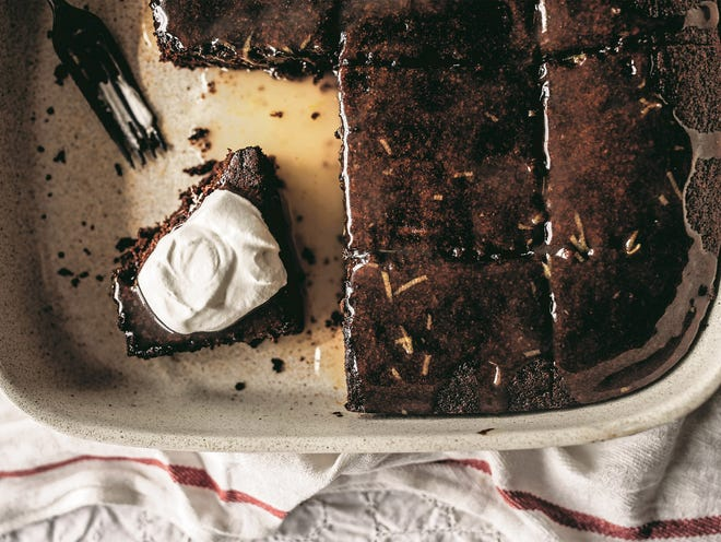 """Gingerbread with lemon sauce from """"Jubilee"""" by Toni Tipton-Martin"""