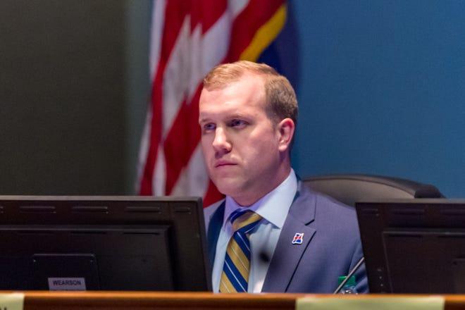 Josh Carlson, Lafayette Parish Council District 3, pictured Jan. 21, 2020.