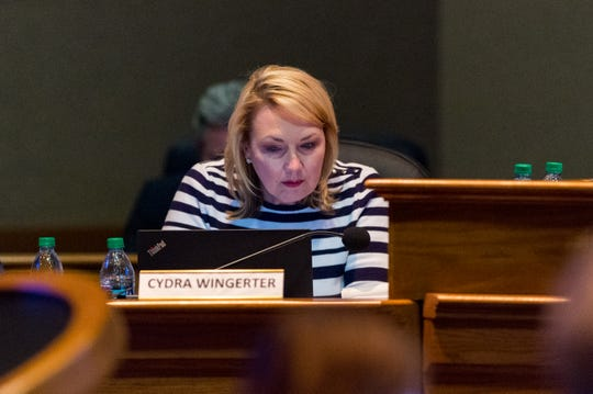 Cydra Wingerter, CAO- Lafayette City-Parish Council. Tuesday, Jan. 21, 2020.