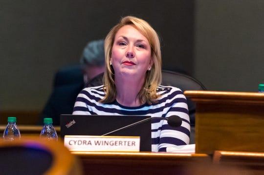 Cydra Wingerter, CAO- Lafayette City-Parish Council. Tuesday, Jan. 21, 2020.