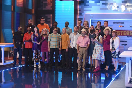 LEGO MASTERS:  Contestants in LEGO MASTERS, premiering Wednesday, Feb. 5 (9:00-10:00 PM ET/PT) on FOX.