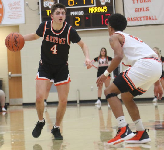 Ashland's Luke Denbow was named second team All-Northwest District in Division I.