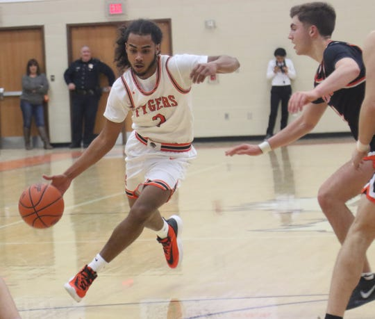 Mansfield Senior's Roger Merrell III has the Tygers at No. 5 in the Richland County Boys Basketball Power Poll.