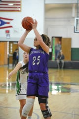 Lexington's Gabby Stover has the Lady Lex at No. 7 in the Richland County Girls Basketball Power Poll.