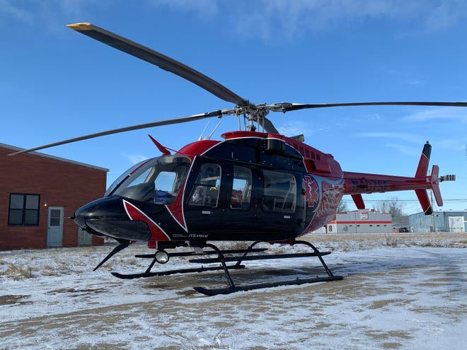 Survival Flight, an emergency medical helicopter company, has opened a helicopter base just east of Marion, at Ohio 309 and Pole Lane Road.