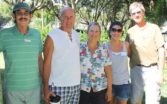 Bill King, Dale Rod, Gloria Robertson, JoEllen Berret and Ken Robertson always enjoy the picnics.