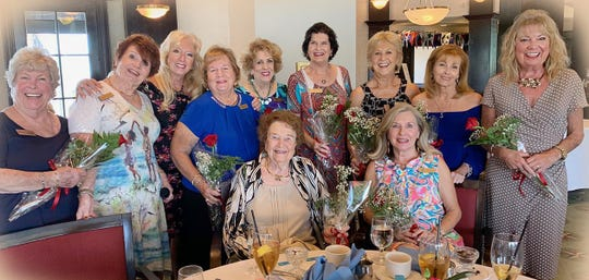 Birthdays ladies Patty Larkin, Trisha Pease, Rose Kraemer, Eileen Carlsen, Marsha Crawford, Erna Lovely, Pam Molander, Bonnie Bozzo, Janet Dickens,  Sandi Friend and Jan Cirrilo.