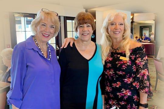 Litha Berger, Pam Cote and Rose Kraemer.