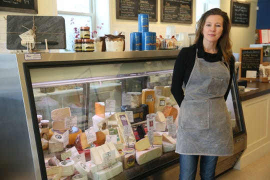 Village Cheese Shop owner Sabina Magyar worked in New York for a wine importer and cheese shops before returning to Wisconsin and opening her own store at 1430 Underwood Ave. in Wauwatosa.