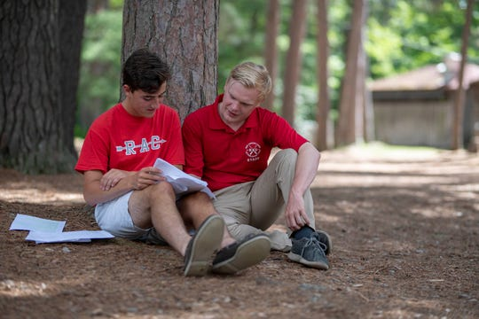 Red Arrow Camp in Vilas County has a 1:4 counselor-to-camper ratio, allowing counselors one-on-one time with their campers throughout the summer.