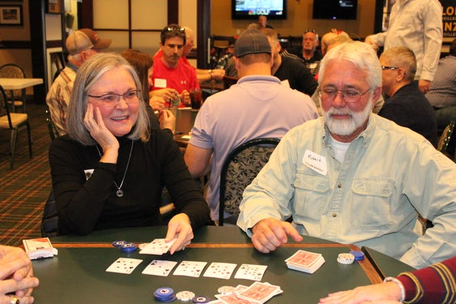 The Baxter County Library Foundation's annual Texas Hold'em tournament will be held Saturday at Big Creek Golf & Country Club.