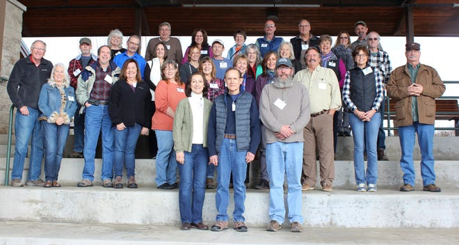 Area Master Naturalists welcomed 31 new members in mid-January, including 17 from Baxter, 10 from Marion, two from Boone and two from Stone Counties. This year's Naturalists-in-Training comprise 18 women and 13 men, including eight couples. By early May they will have completed at least 40 hours of class and field training in such topics as botany, archaeology, geology, butterflies and birding, frogs and toads, mammals, trail maintenance and stream water monitoring. Many will also begin volunteering on trails, streams, gardens and other projects. For more information about North Central Arkansas Master Naturalists, please e-mail ncamn.contact@gmail.com