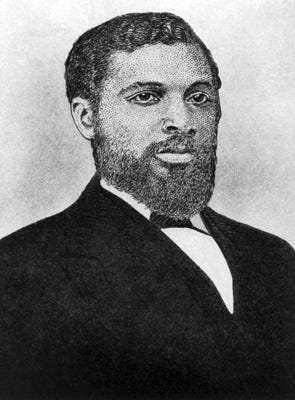 James T. Rapier represented a central Alabama district in Congress from 1873 to 1875, and voted for the Civil Rights Act of 1875. He defeated Jeremiah Haralson for the Republican nomination for the 4th congressional district in 1876, but ultimately finished third in the race.