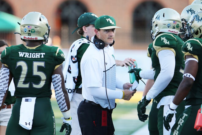 Josh Zidenberg became Ball State football's passing game coordinator and defensive backs coach in 2020. He previously coached at six other universities, including William & Mary.