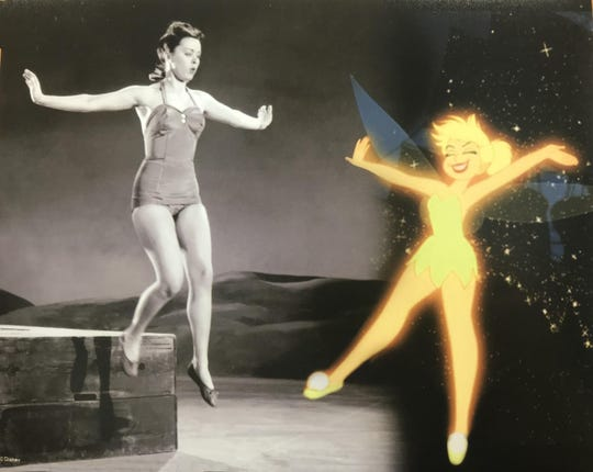 Margaret Kerry was the model for Tinker Bell in the 1953 classic Peter Pan. For decades many people though Marilyn Monroe was the model.