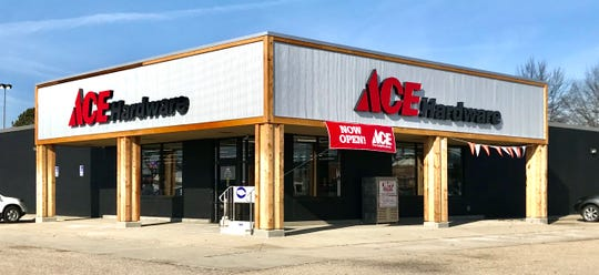 The new Ace Hardware store in the old Aldi location on 30th Street, in Heath.
