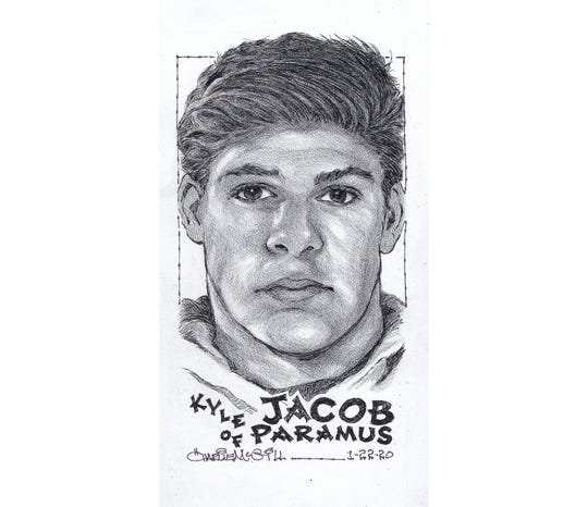 Kyle Jacob, Paramus wrestling