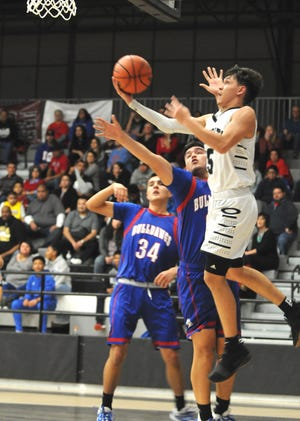 The Las Cruces boys basketball team beat Oñate in District 3-5A play on Tuesday at OHS.
