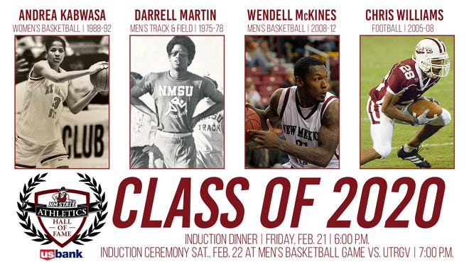 New Mexico State announced its 2020 Hall of Fame class on Wednesday.