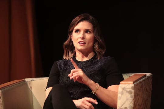 Danica Patrick thrills crowd with talk of racing, fame and those pesky speeding tickets